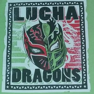WWE Lucha Dragon Authentic Shirt WWF NXT WCW ECW